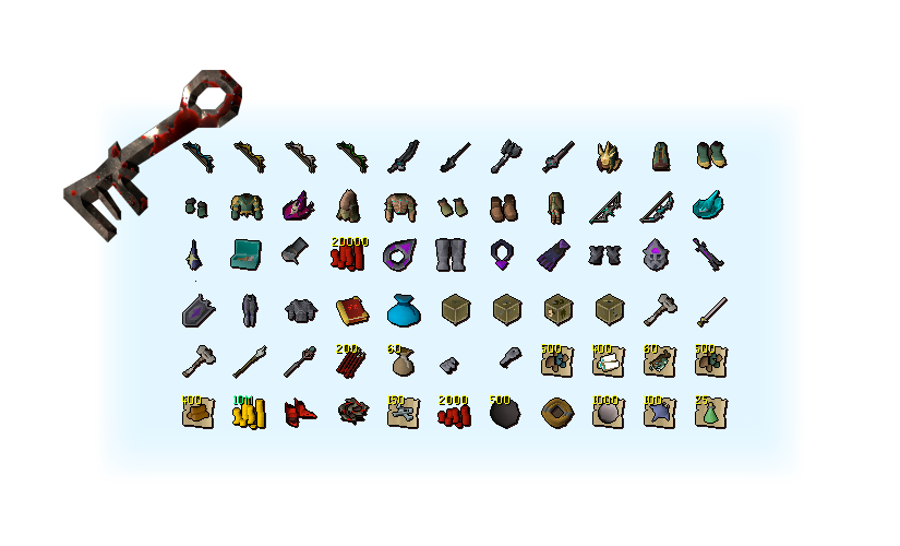 Etherum blood chest rewards