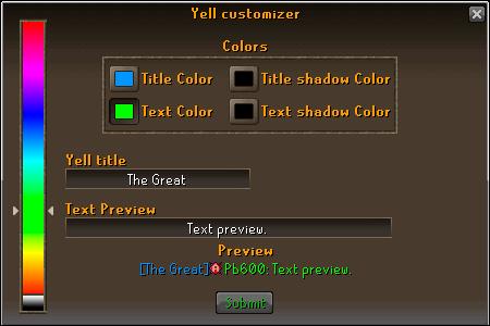 Etherum yell customizer