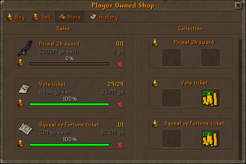 Etherum player owned shop