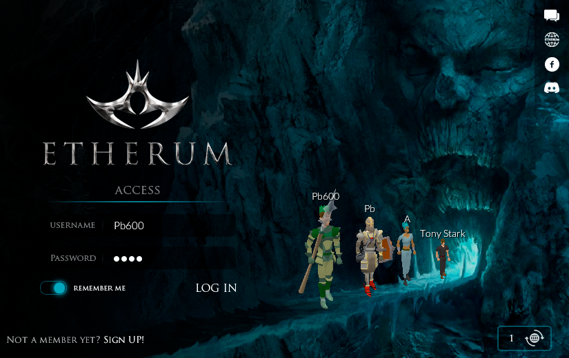 Etherum settings