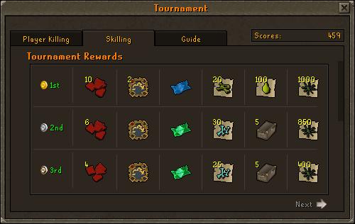 Etherum Player Skilling Tournament